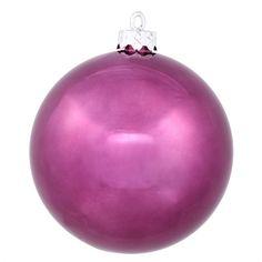The Holiday Aisle UV Shiny Ball Shatterproof Ornament Color: