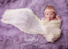 Newborn Ivory Cream Cheesecloth Wrap Photo by redowlphotoprops, $7.00