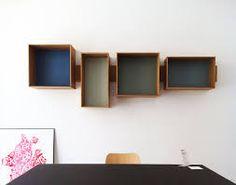 Image result for box shelves
