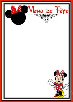 Mickey and Minnie in Red Free Printable Notebook. Mimi Y Mickey, Mickey Y Minnie, Red Minnie Mouse, Mini Mouse, Disney Printables, Free Printables, Disney Writing, Oh My Fiesta, Minnie Birthday