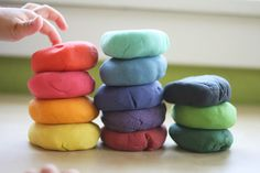 How To Make Your Own Edible Play Dough For Food Decorating And Fun With Kids! Ingredients: 2 cups flour, 1 cup salt, 2 cups water, 2 tbs oil, 4 tsp cream of tartar, Food coloring