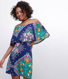 Vestido feminino  Ombro a ombro  Estampa Floral  Marca: Blue Steel  Tecido: viscolycra  Modelo veste tamanho: P     Medidas da Modelo:     Altura: 1.72  Busto: 78  Cintura: 59  Quadril: 91  Manequim: 36    Veja outras opções de    vestidos femininos   .