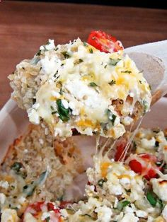 Mediterranean Quinoa Bake--feta, spinach, artichoke...yum 4 Super-Simple Dinner Recipes For An Energy Boost #Refinery29
