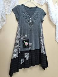 Image result for how to upcycle a sweatshirt into a romantic tunic #dressesdiyupcycle