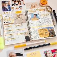 Easy Bullet Journal Ideas To Well Organize & Accelerate Your Ambitious Goals Bullet Journal Planner, Bullet Journal Page, Bullet Journal Spread, Bullet Journal Inspiration, Bullet Journals, Journal Layout, My Journal, Journal Pages, Bujo