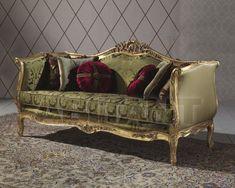 Диван оливковый Angelo Cappellini 60220/D3 , каталог мягкой мебели: фото, заказ, доставка - ABITANT ABITANT Москва