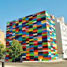 Il mondo a colori: i palazzi più allegri del pianeta Madrid - Spagna