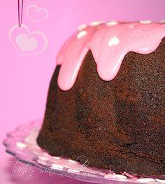 Tartas sin Gluten .....365 dias sin gluten: Bundt de Chocolate ....para ❤ San Valentín ❤