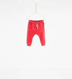 Image 1 de Pantalon en molleton basique de Zara