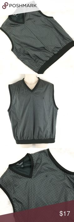 """Brooks Brothers Country Club Golf Vest LOGO Brand: Brooks Brothers Country Club  Tagged Size:Large  Total Length:28""""  Sleeve Length:0  Underarm to Underarm:24.5""""  Condition: Pre owned, in Excellent Shape. No Holes, Stains or Fading  Item comes from a pet free/smoke free clean environment  please contact me for any additional questions  I offer combined shipping Brooks Brothers Jackets & Coats Vests"""
