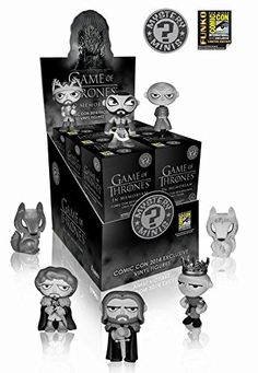Game of Thrones Funko Mystery Mini In Memoriam SDCC 2014 Exclusive COMPLETE SET @ niftywarehouse.com