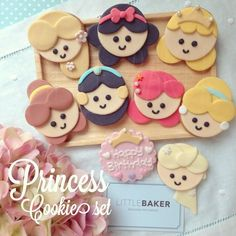 princess cupcake toppers                                                                                                                                                      More: