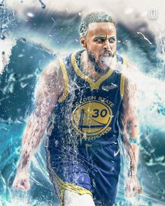 Basketball Videos, Basketball Art, Basketball Players, Steph Curry Wallpapers, Golden State Warriors Wallpaper, Michael Jordan Art, Stephen Curry Basketball, Best Nba Players, Curry Nba