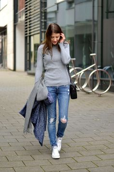 Jeans Frühlingsoutfit