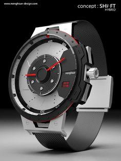 Shift  #concept #watch by Mengshun Wu's