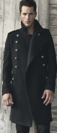military inspired coat