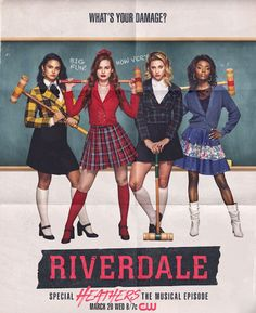 Original Television Soundtrack (OST) from the CW series Riverdale: Special Episode - Heathers the Musical The music by Various Artists (Riverdale Cast). Riverdale: Heathers the Musical Soundtrack by Various Artists (Riverdale Cast) Riverdale Funny, Bughead Riverdale, Riverdale Memes, Riverdale Tv Show, Riverdale Netflix, Riverdale Archie, Archie Comics, Heathers El Musical, The Heathers