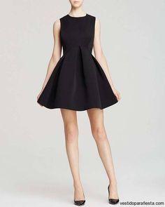 Vestidos juveniles cortos acinturados color negro – 30 - https://vestidoparafiesta.com/vestidos-juveniles-cortos-acinturados-color-negro/vestidos-juveniles-cortos-acinturados-color-negro-30/