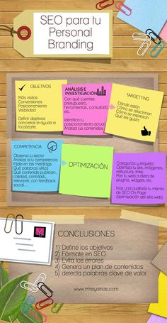 SEO para tu Marca Personal #infografia #infographic #marketing #seo