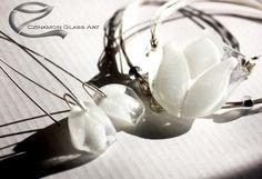 hEsküvő üvegékszer, hofeher-tulipan-uvegmedal-2o-small Glass Jewelry, Jewelry Sets