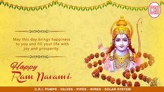 Rama Navami is a spring Hindu festival that celebrates the birthday of god Rama. He is particularly important to the Vaishnavism tradition of Hinduism, as the seventh avatar of Vishnu. CRI Pumps Wishing everyone a very Happy Ram Navami. Happy Ram Navami, Industrial Pumps, Hindu Festivals, Hinduism, Avatar, India, God, Spring, Birthday