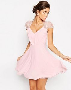 ASOS - Kate - Mini robe en dentelle