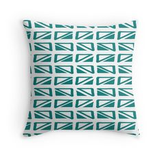 'Cute Hand Drawn Teal Pattern' Throw Pillow by Teal Throw Pillows, Floor Pillows, Framed Prints, Canvas Prints, Art Prints, Art Boards, Hand Drawn, Duvet Covers, How To Draw Hands