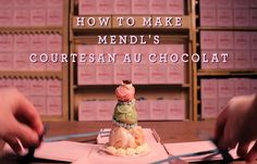 How To Make The Starring Pastry the Courtisane au Chocolat from The Grand Budapest Hotel Watch the full, charming step-by-step video here: