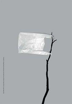 JEDENASTE: NIE PRODUKUJ ŚMIECI 21. edycja konkursu Galerii Plakatu AMS, temat: uświadomienie i zwrócenie uwagi na rosnącą ilość ilości (2020) MAREK KUCIŃSKI, NATALIA WILCZAK - WYRÓŻNIENIE