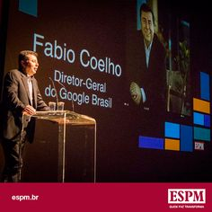 Fabio Coelho, diretor-geral do Google Brasil, foi o convidado da aula inaugural da ESPM que aconteceu dia 27.