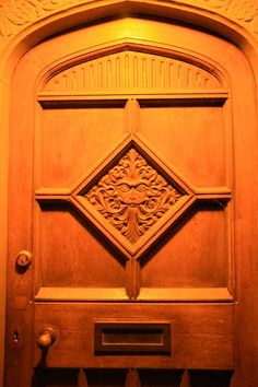 When the person who will live there commissions the front door, it becomes a statement rather than the most sellable commodity.