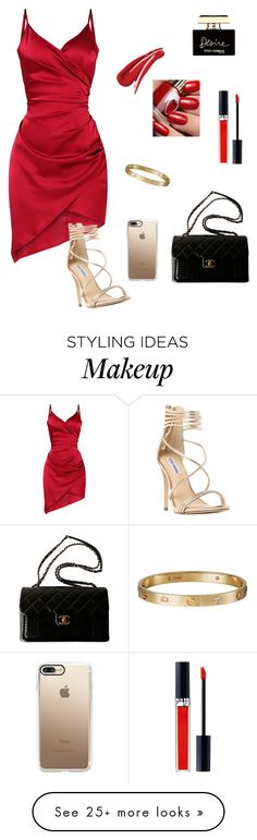 """Untitled #75"" by buba-gohar on Polyvore featuring Steve Madden, Dolce&Gabbana, Casetify, Cartier, Chanel and John Lewis"