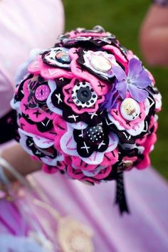 Rockabilly Wedding Gaaaaaaaa this I my all time favorite bouquet I have ever see!!!