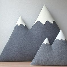 Giant!!! Mountain Pillow, now available on #etsy