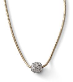 Our Glitter Ball necklace is perfect for everyday.