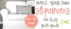 How to Make a Slipcover for a Sectional