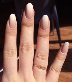 Gradient French Manicure by Michelle L.