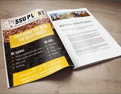 """Check out new work on my @Behance portfolio: """"SSU Plant Hire"""" http://be.net/gallery/48423261/SSU-Plant-Hire #flyerdesign #graphicdesign"""