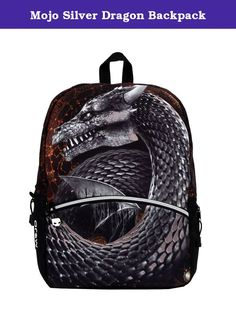 Mojo Silver Dragon Backpack. Launched in 2011 in New York City, Mojo Backpacks was founded on the idea that a backpack is so much more than an accessory - it is a way of expressing who you are. Fans of our brand are inspired by music, fashion, art and pop culture, which is why every element of each style is created through the lens of our fans. Mojo has garnered the attention and support of top DJs and artists around the world. And with the creation of the Mojo 1113 DJ bag, a…