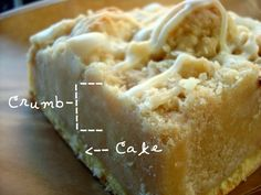 Behemoth Crumb Cake!! 9 parts crumb, one part cake... That's what I'm talking about!!