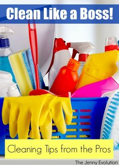Clean Like a Boss: DIY Cleaning Tips from the Pros for Your Home