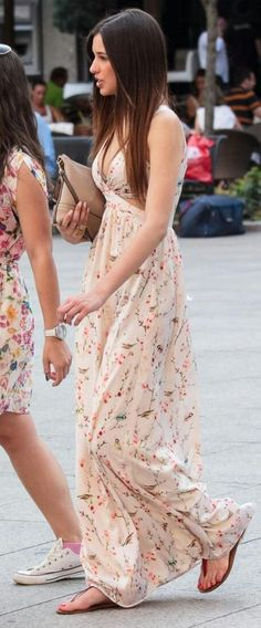 Daily New Ideas: Floral Maxi / Awe Fashion for Success Maxi Dresses. Long Summer Dresses, Spring Dresses, Evening Dresses, Long Dresses, Maxi Dresses, Dresses 2013, Dress Summer, Summer Outfit, Maxi Floral