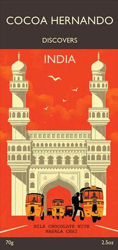 Folio - Illustration Agency | Rui Ricardo - Editorial • Advertising • Graphic • Travel illustrator | Cocoa Hernando - India