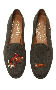These **Stubbs & Wootton** classic slippers have been handcrafted…