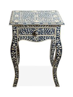 Bianca Bone Inlay End Table by nuLOOM at Gilt- Just beautiful! Iron Tools, Rugs Usa, Moroccan Style, Indoor Outdoor Rugs, Home Repair, Modern Rugs, Modern Boho, Floor Rugs, Painted Furniture