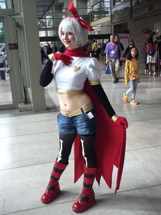 While I haven't yet had the chance to start going through our photoshoot sets from Sakura-Con, a friend sent me this hallway shot she found of my revamped Papyrus from Sunday and I absolutely love it. :'3 I changed a few things from the last time I wore it, and it's now probably one of my absolute favourite cosplays to wear. >w< More photos will be coming soon!