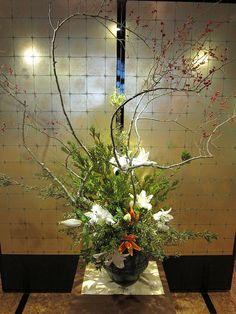 Japanese Flower Arranging | Japanese flower arrangement 40, Ikebana: いけばな | Flickr - Photo ...