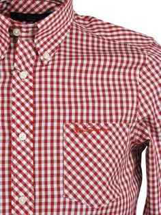 Ben Sherman Shirt 'WiltShire' Long Sleeve Gingham Check [Medium] Ben Sherman, http://www.amazon.co.uk/dp/B005786JJG/ref=cm_sw_r_pi_dp_jW7Mrb11EAA0H
