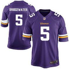 Youth Minnesota Vikings Teddy Bridgewater Nike Purple Game Jersey Amendola  Jersey e8531233b