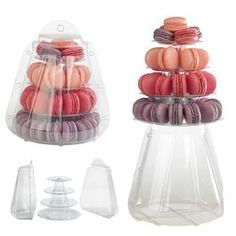 What a cute way to show off your macaroons